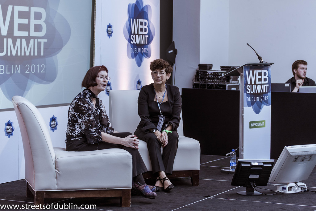 Mitchell Baker (Mozilla) And Jennifer Schenker: Dublin 2012 Web Summit