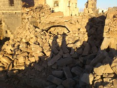 -       -- (   ) Tags: against project humanity destruction helicopter memory revolution shelling syria historical tanks devastation  crimes buidlings syrian assad  dael   deraa                       srmp