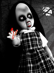 31 Days of Halloween 25 (welovethedark) Tags: halloween doll iphone deek creepydolls livingdeaddolls iphonecamera iphonecameraapps