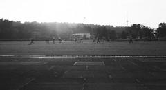 vrynas (zbigas) Tags: tower film field ball football tv soccer delta 3200 ilford lithuania vilnius
