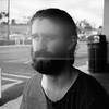 Thomas light leak (stephen_levas) Tags: light white black face beard friend kodak thomas bronica leak sqa 400tmx tmy2