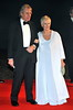 Dame Judi Dench and guest Royal World Premiere of Skyfall held at the Royal Albert Hall - London, England
