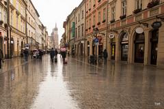 Krakow  (Explore) (doveoggi) Tags: street rain poland krakow explore explored 9430 bestcapturesaoi