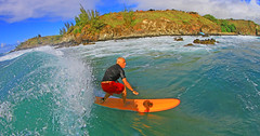 waves for the weekend ! (bluewavechris) Tags: ocean light sea sun holiday water face canon fun hawaii surf ride action weekend surfer sandy wave maui surfboard 7d lip curl thebay swell 815 honoluabay honolua cmthousing