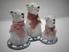 Polarbears (danahaneunjeong) Tags: bear doll polarbear polar 인형 도자기 북극 북극곰