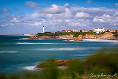 Phare de Biarritz (G2pics) Tags: longexposure sea mer lighthouse france canon landscape 28mm paysage phare biarritz 2012 paysbasque aquitaine expositionlongue nd1000 nd110 5dmarkii vosplusbellesphotos g2pics guillaumegrousset