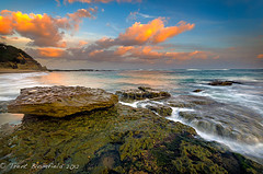 First Breath After Coma (Trent Blomfield) Tags: sunset beach bay coast seascapes central australia nsw bateau sigma1020mm