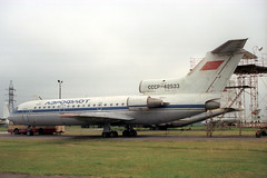CCCP-42533 Yakovlev YAK-42 Aeroflot (pslg05896) Tags: ukraine aeroflot yakovlev yak42 krivoyrog kryvyirih cccp42533