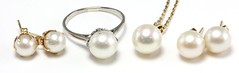 1012. Group of Wonderful Cultured Pearl Jewelry