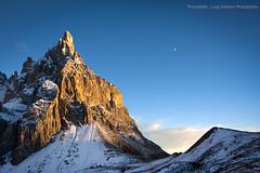 + da vicino (Photoskatto) Tags: sunset mountain alps montagne landscapes tramonto alpi dolomiti dolomiten segantini paledisanmartino enrosadira baitasegantini cimondellapala theauthorsplaza