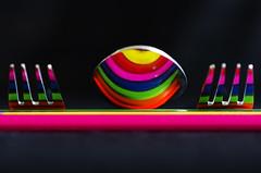 colouring cutlery (S'been) Tags: reflections cutlery colourartaward artlegacy