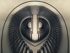 <3 (maxelmann) Tags: 3 up stairs germany heart down leipzig stairway treppe le spiegelung herz stufen hoch treppengeländer handlauf runter lovestairs maxelmann i3stairs