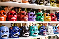 Feliz Dia de los Muertos! (Dani_Girl) Tags: dayofthedead skulls mexico dailypic diadelosmuertos cozumel calaveras touristshop allsoulsday fisherpricemoms fisherpriceonroyal seeivebeentomexicotwiceandnowimbiculturalgettyimagescanada