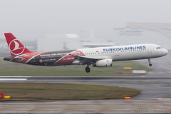 """Airbus A321 Turkish Airlines """"Euroleague"""" TC-JRO MSN 4682 (Guillaume Besnard Aviation Photography) Tags: plane canon eos airbus canoneos spotting tls a321 euroleague turkishairlines toulouseairport airbusa321 toulouseblagnac lfbo eos1dmarkiii tcjro msn4682 cn4682"""