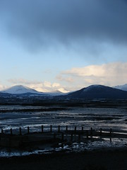 Mourneful View 2 (mdavidford) Tags: snow mountains coast posts greencastle carlingfordlough doan mournes slievebearnagh slievemuck slievemeelmore knockchree slievemeelbeg