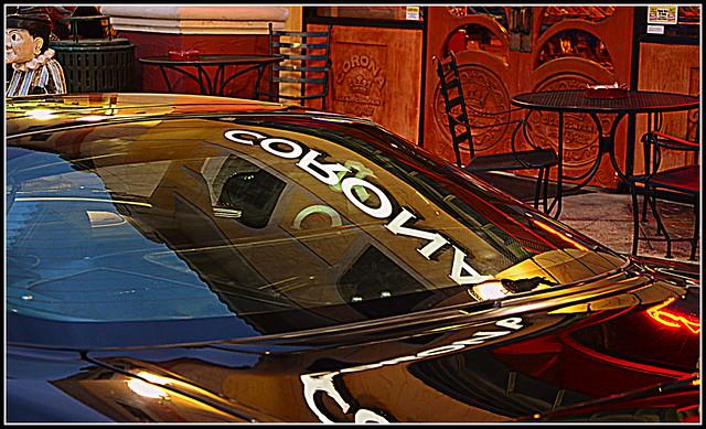 reflection sepia nikon redrule vignette sportscar acuransx nikond7000 vincefl colorsandcolorful
