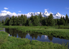 Grand-Teton-Reflection (brianharig) Tags: pictures travel blue trees sky white mountain snow mountains green nature water clouds poster landscape rockies photography landscapes photo amazing scenery image photos pics fineart great scenic picture parks rocky bluesky pic images photographs photograph snakeriver rockymountains wyoming np grandtetons range grandteton jacksonhole wy mountainlandscape teatons teaton gtnp mountainlandscapes brianharig grandtetonnationalparkreflectionmountainlandscapebrianharig
