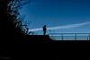 Osserva, Riflette... Io Scatto! (dmarzai) Tags: sky silhouette backlight landscape italia campania valledimaddaloni 2013 iamnikon