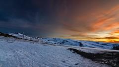 Sierra Nevada Dark Sunset II (KyKE codigoSUR) Tags: winter sunset snow clouds nieve granada nubes invierno puestadesol sierranevada kyke codigosur