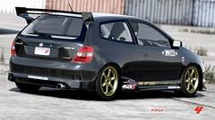 Honda Mugen Civic EP3 (Doggies Garage) Tags: xbox360 honda bridgestone potenza civic volk ep3 tein rota motul mugen skunk2 kraftwerks timeattack gtspec forzamotorsport4