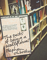 The Perks of Being A Wallflower (melanie may chan) Tags: book bookstore borders theperksofbeingawallflower stephenchbosky