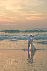 Phuket Wedding (Serena178) Tags: wedding sunset love beach thailand sand waves canon5d phuket karonbeach sliderslider slidersunday
