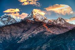 Annapurna, Nepal (CamelKW) Tags: nepal mountain sunrise trekking skies pokhara annapurna annapurnatrek poonhill poonhilltrek mountainsandskies trekkinginthehimalayas sunriseinthehimalayas ghorepanipoonhilltrek mountainpeaksinnepal