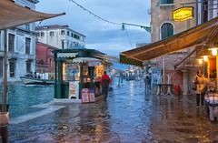 Acqua alta (High water) - Venezia, Italia (Sergei Sigov) Tags: venice winter italy nikon italia flood january venezia d800 twop 2013