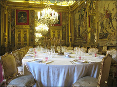 tags art architecture table lumire or royal manger palais luxe chaise salle meuble sallemanger absolument sur fond noir