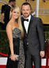 19th Annual Screen Actors Guild (SAG) Awards held at the Shrine Auditorium - Arrivals Featuring: Aaron Paul,Lauren Corrine Parsekian