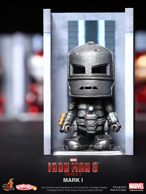 Hot Toys - 鋼鐵人3 COSBABY