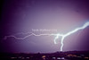 Image of lightning,Alexandria,Egypt,1-2-2013