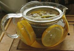 Lemon tea - 3 (debunix) Tags: linden honey rosehips chamomile lemontea