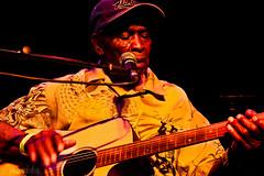 "David ""Honeyboy"" Edwards, Oosterpoort, Groningen, april 2007 (herbnl) Tags: david night blues groningen edwards rhythm 2007 honeyboy"