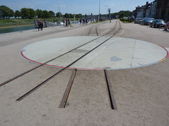 Quai Trackwork (Worthing Wanderer) Tags: summer france railway sunny august steam preserved somme stvalerysursomme picardy chemindefer noyellessurmer chemindeferdelabaiedesomme bayofthesommerailway