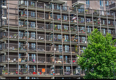 External storage (Peterbijkerk.eu Photography) Tags: flowers amsterdam flat nederland bikes storage nl grachten terras bloemen fietsen noordholland varen opslag balkons peterbijkerkeu