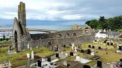 St. Mary's church Howth Ireland (sakarip) Tags: old ireland sea howth dublin church cemetery graveyard clouds seaside ruins christianity stmaryschurch sakarip