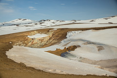 Krafla Viti Crater 08 (sarahmonious) Tags: kraflaviticrater kraftla viti myvatn kraftlavolcano volcanocrater crater hverir snow route1iceland route1 ringroad iceland iceland2016 icelanding2016 traveling
