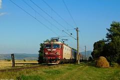A pros Corona Kilynnl (bel Biszak) Tags: gara tren romania cfr train electrica gfr marfar freight coach vagon passanger 2055 2054 2147 te rama ea craiova electric zug bahnhof