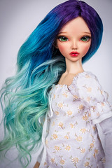 Dreamy Ocean (Amadiz) Tags: fairyland minifee chloe tan amadiz amadizstudio wig abjd bjd
