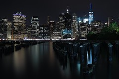 The city that never sleeps (Susan Pilcher) Tags: longexposure night brooklyn manhattan nyc newyork 3stop ndfilter 240secondexposure