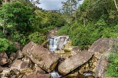Waterfalls (Hany Mahmoud) Tags: waterfalls srilanka nature asia sunshine rocks trees green river explore travel ngc