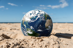 Global Warming (james.popsys) Tags: photoshop adobe creative cloud beach space nasa earth composite humour funny conceptual abstract globe australia ozone