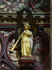 Musician  Angel (Aidan McRae Thomson) Tags: lichfield cathedral staffordshire angel metalwork victorian georgegilbertscott skidmore sculpture