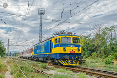 Rockin' On in Blue & Yellow (cossie*bossie) Tags: 46 221 bdz class koncar konchar bulgaria sofia zaharna fabrika passenger train greece international railways electric locomotoive 060ea le5100
