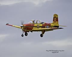 N922PJ 1955 Beech A45 (Hawg Wild Photography) Tags: n922pj 1955 beech a45 general aviation aircraft airplane terry green nikon d810 600mm vr arlington municipal airport kawo washington