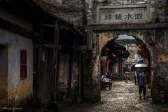 _DSC5983 (allabar8769) Tags: arco calle china daxu edificios guilin patrimoniodelaunesco puerta tejados ngc