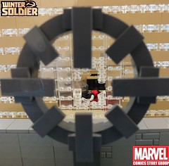 Winter Soldier Vol 2 A New Age #2 (The_Lego_Guy) Tags: lego winter soldier james buchanan bucky barnes the kills jeff malone suits reference anyone watch that show thelegoguy guy custom minifig this shot scoped sniper captain america steve rogers is jacking off pictures peggy