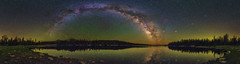 Milky Way 360 Panorama (skypointer2000) Tags: astrophotography astronomy astro uintas utah nightscape night panorama landscape longexposure lake reflection canon canoneos6d hutech astromodified tamronsp1530mmf28 milkyway milchstrasse sky skyglow ptgui