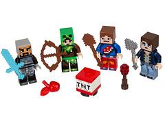 LEGO Minecraft 853609 - Skin Pack (THE BRICK TIME Team) Tags: lego brick minecraft minifigures
